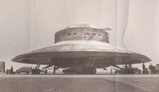 Presunto UFO nazista